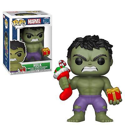 Funko Pop Marvel: Holiday Hulk with Stocking 398 33984 In stock