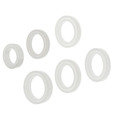Clear Round Resin Bangle Bracelet Jewelry Making DIY Silicone Wristband Mold