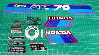 1985 85' Honda ATC 70 ATC 13pc Graphic decals stickers trike