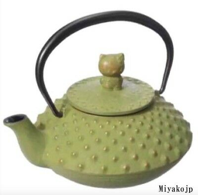 Hello Kitty Teapot Tea Iron Japanese Kyusu Tetsubin traditional Japan Iwachu New