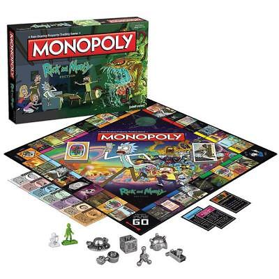 Rick and Morty Edition Monopoly Board Game*