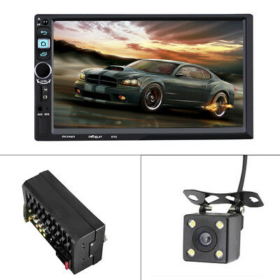 "7"" Android Double 2Din Car MP5 MP3 Radio Player WIFI GPS Navi Touch Bluetooth"