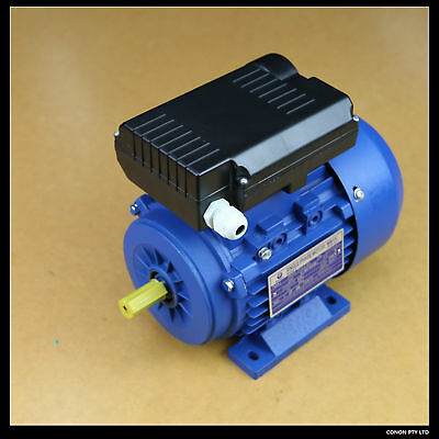 Worm Gear Electric Motor 2hp Strong Torque Speed Reduction with output shaft