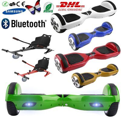 6.5'' Hoverboard Gyropode Skate Overboard Hovercart Electrique Scooter  NEUF