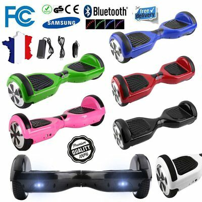 6.5 Pouces Smart Skate Hoverboard Self Balance Electrique Scooter 2 Roues Sac