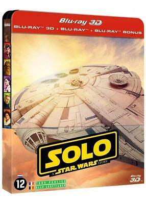 Solo: A Star Wars Story - 3D and 2D Blu-ray SteelBook LIMITED EDITION !!