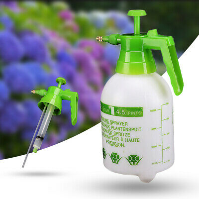 2L Hand Garden Pump Pressure Water Sprayer Bottle For Plant Flowers Plastic