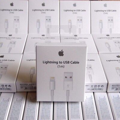 Genuine 1M Apple Lightning USB Charger Lead Cable For  Apple iPhone X,8,7,6,5s
