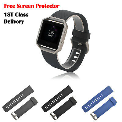 Replacement Silicone Sport Watchs Band Straps Bracelet For FitBit BLAZE Tracker
