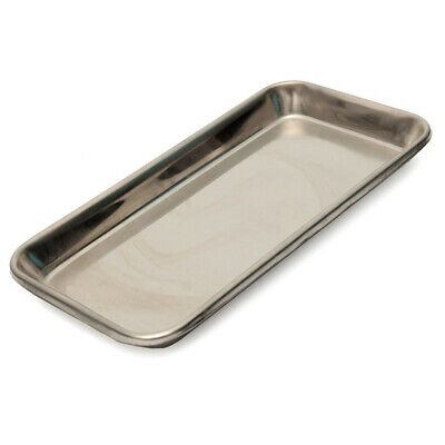 Rectangle Stainless Steel Medical Surgical Tray Dental Dish Lab Instrument Tool