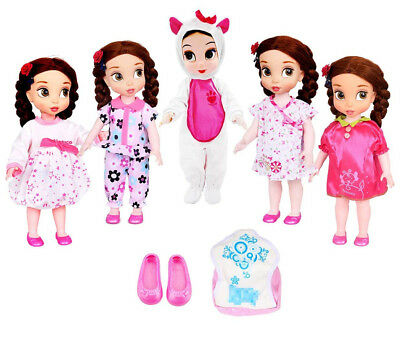 Ebuddy 5pcs Doll Clothes With 1pcs Backpack 1pairs Shoes Doll Clothes For 36cm