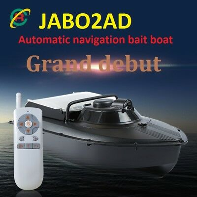 RC Boot Futterboot - Köderboot - Baitboat 2AL Automatische Navigation GPS *