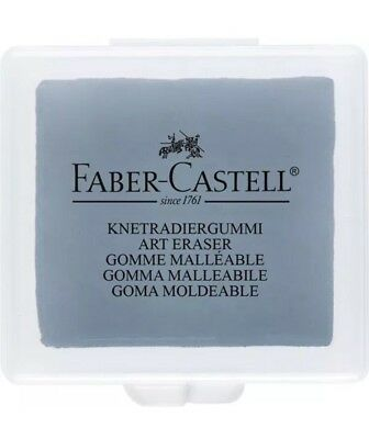 Faber Castell Artists Kneaded Putty Rubber Eraser Pencil Charcoal Pastel In Tub