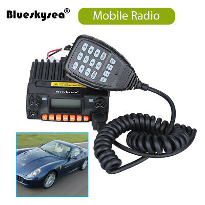 KT-8900R Car Mobile 2-Way Radio Tri-Band 25W Dual Display Standby & Dual Track