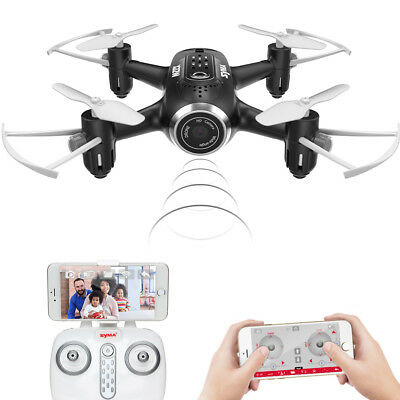 Syma X22W 4CH RC Quadcopter Drone with HD Wifi Camera Hover Headless Mode Black