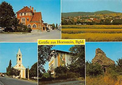 Gruesse aus Hornstein Burgenland Kirche Church General view