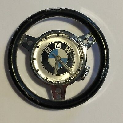 BMW Swiss Made Vintage Steering Wheel Watch Face