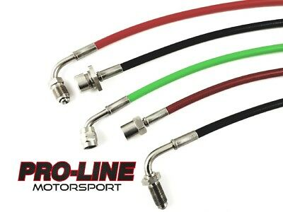 BMW 5 Series E39 M5 - Stainless Steel Braided Brake Line Kit- All Colours