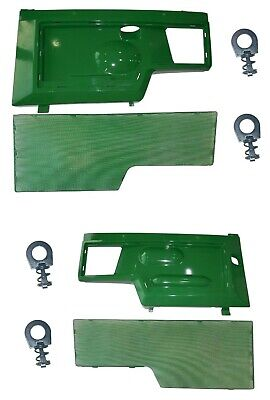 LH/RH Side Panels & Screen SET AM128982 AM128983 Fits John Deere 415 425 445 455