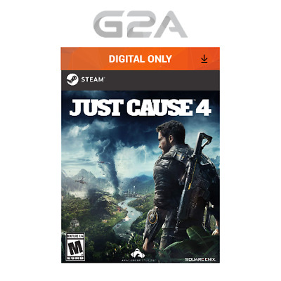 Just Cause 4 Key [PC Action Game] STEAM Download Code JC IV AU/US