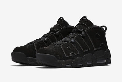 Nike Air More Uptempo  'Triple Black'   originali