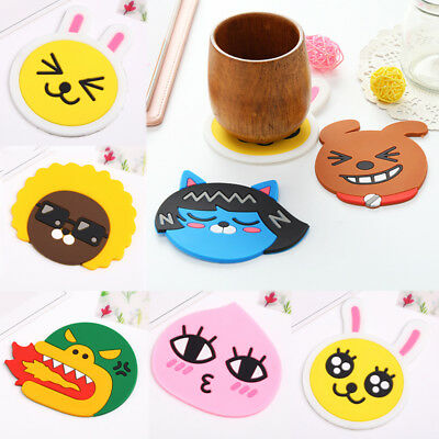 Cup Mat Placemat Bar Mug Silicone Dining Table Coaster Drink Pads Kitchen Decor
