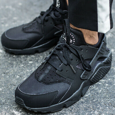 huge selection of 8af01 dc6b2 NIKE AIR HUARACHE RUN ULTRA BR sneakers chaussures hommes sport noir 318429 -003