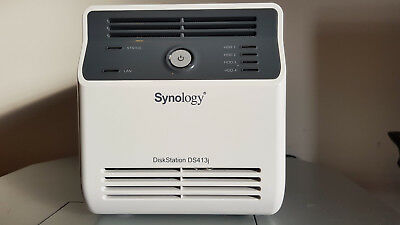 SYNOLOGY DISKSTATION DS413J 4-bay NAS with 2 x 3TB Seagate HDD disks  included