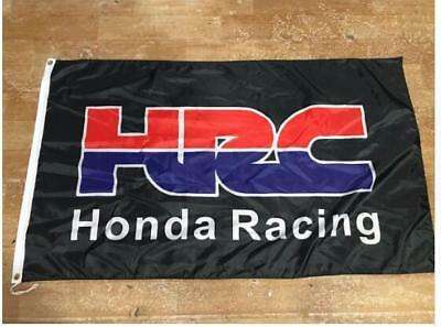 HONDA HRC RACING FLAG BANNER 3X5 WING DIRT BIKE ATV home garage wall sign decor