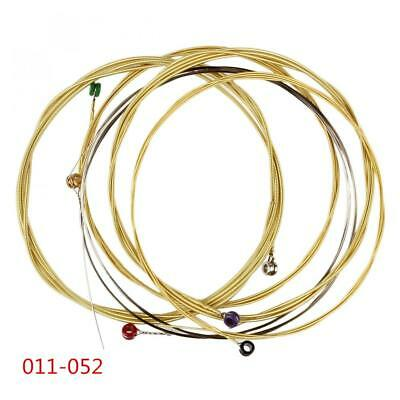 6Pcs/set Acoustic Guitar String 011-052 containing Phosphor Bronze String