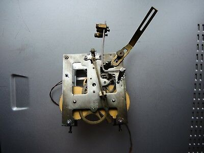 ANTIQUE German Wall Clock MOVEMENT GUSTAV BECKER 1915 P48 PARTS Restore JUNGHANS
