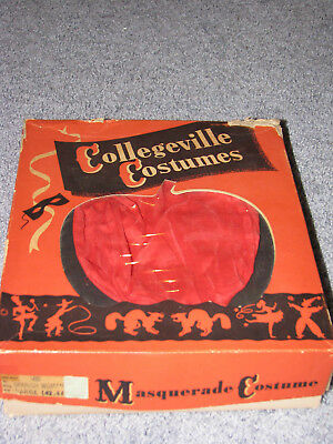 Vintage Collegeville Halloween  Spanish Woman Costume Complete in Box 5 Pc Adult