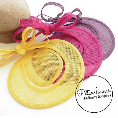 Sinamay Swirl - Make an Instant Fascinator for Hat Making and Millinery!