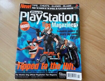 Official UK Playstation Tips Magazine Issue 1 First Issue Very Rare 1997