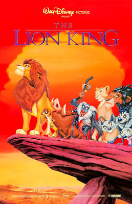 "The Lion King (11"" x 17"") Movie Collector's Poster Print (T2)- B2G1F"