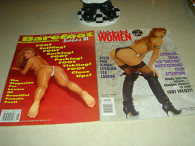 Leg Show Vintage  Presents Barefoot Babes And High Heeled Women...1994...rare..