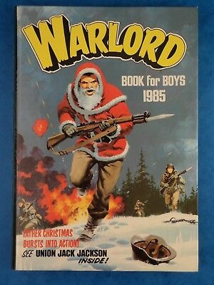 Vintage Kids Annual WARLORD Book For Boys 1985 Christmas
