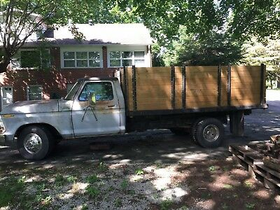 1979 Ford F350  BUYER NEVER SHOWED!!! 1979 F350 Ford Dump Truck