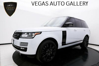 2015 Land Rover Range Rover Supercharged Meridian Sound, Power Assist Step & Black Accents