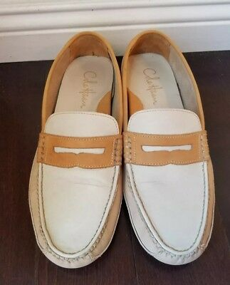 f286b82efb2 Men Casual Shoes Cole Haan Coburn Penny Driver II Leather Loafers Sz 9.5M