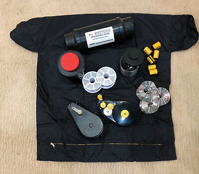 Film Photo Developing Tools - LOT of Tanks Daylight Film Winder, Stainless Reels