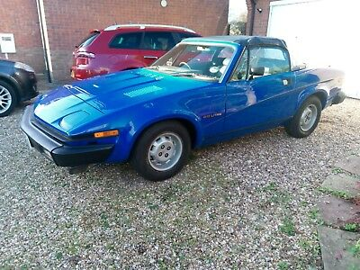 Triumph TR7 convertible 1980 good condition mot September 2019