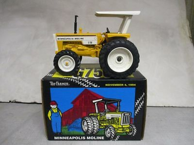 """Minneapolis Moline Model G-750 MFWD Toy Tractor """"94 NFTS Edition"""" 1/16 Scale NIB"""