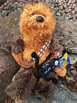 Build a Bear 18 in. Star Wars Chewbacca Bear w/Sound & Bowcaster  - STUFFED- New