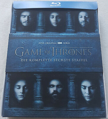 HBO Game of Thrones Staffel, Season 6 Bluray Exclusive Lenticular Cover Edition