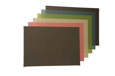 """3M Lapping Film 9"""" x 13"""" , Aluminum Oxide and Silicon Carbide Multiple Grit pack"""