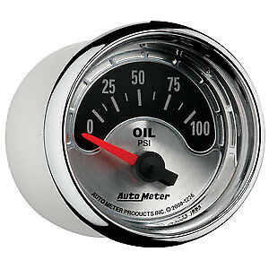 AutoMeter 1226 American Muscle (TM) Gauge Oil Pressure