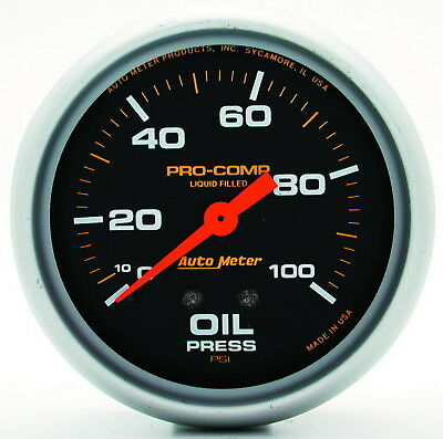 AutoMeter 5421 Pro-Comp (TM) Gauge Oil Pressure
