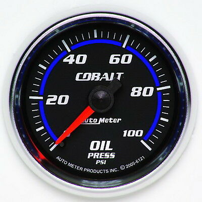 AutoMeter 6121 Cobalt (TM) Gauge Oil Pressure