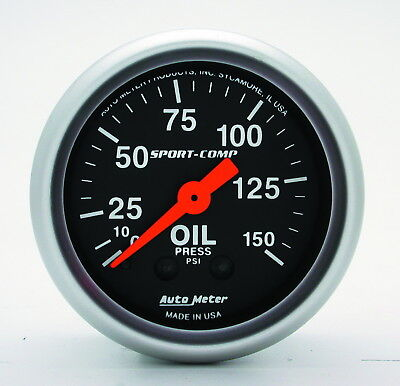 AutoMeter 3323 Sport-Comp (TM) Gauge Oil Pressure